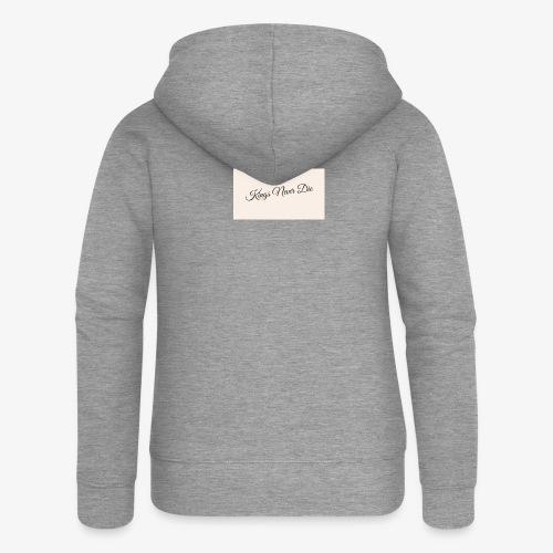 Kings Never Die - Women's Premium Hooded Jacket