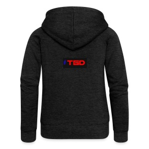 TGD LOGO - Women's Premium Hooded Jacket