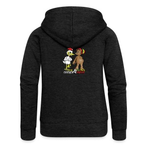 Jerk chickenPork Dread - Women's Premium Hooded Jacket