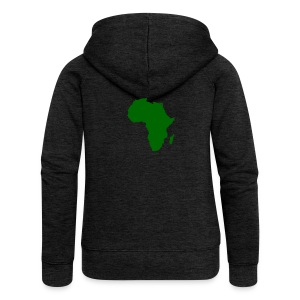 African styles green - Women's Premium Hooded Jacket