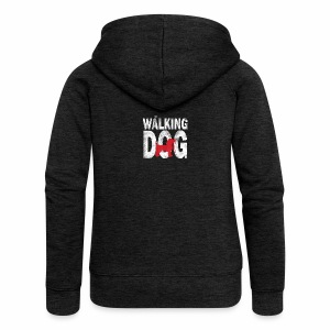 The Walking Dog - Frauen Premium Kapuzenjacke