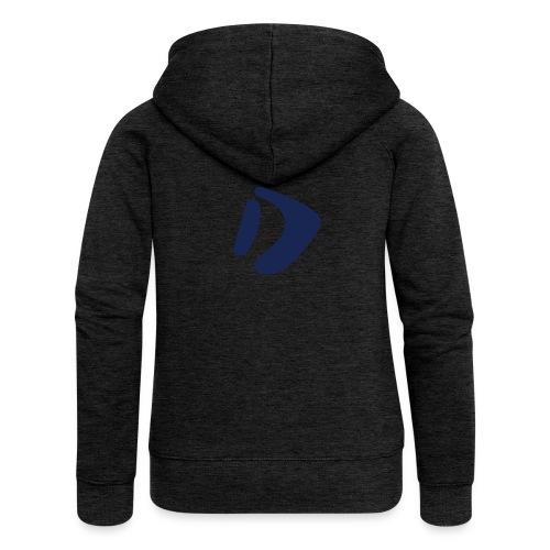 Logo D Blue DomesSport - Frauen Premium Kapuzenjacke