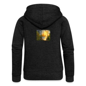 Temple of light - Women's Premium Hooded Jacket