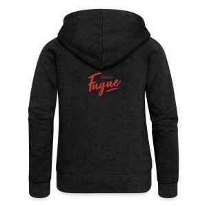 Radio Fugue Red - Veste à capuche Premium Femme