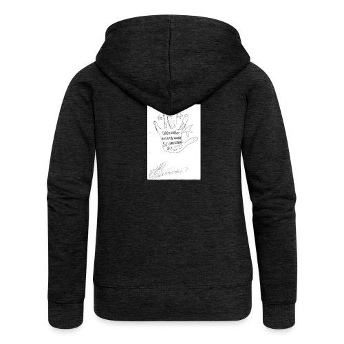 Und dein Herz schlägt schneller - Women's Premium Hooded Jacket