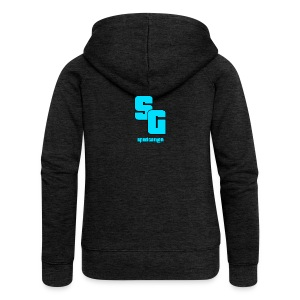 SpudGamer Logo - Women's Premium Hooded Jacket