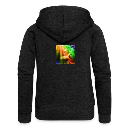 SASSY UNICORN - Women's Premium Hooded Jacket