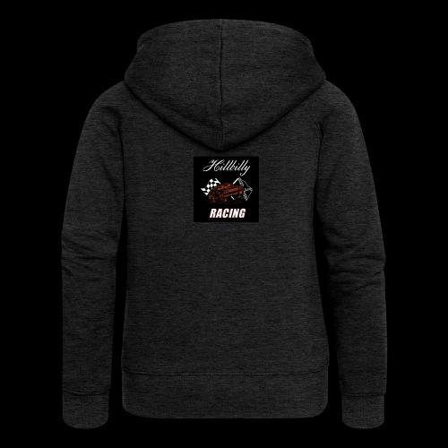 Hillbilly racing merchandise - Vrouwenjack met capuchon Premium