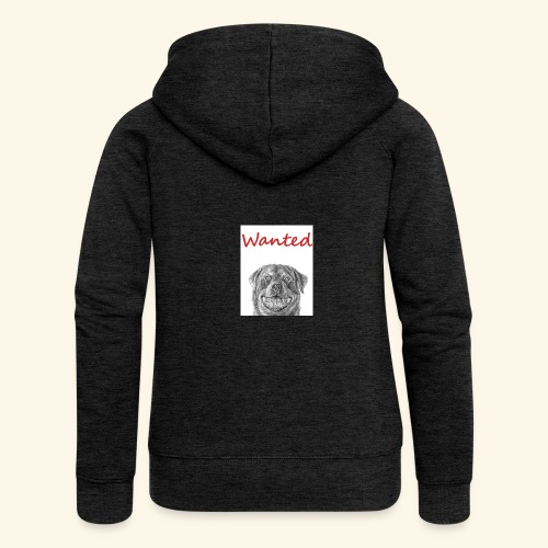 WANTED Rottweiler - Women's Premium Hooded Jacket