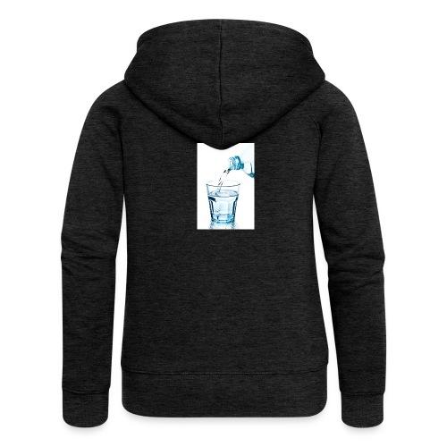 Glas-water-jpg - Vrouwenjack met capuchon Premium