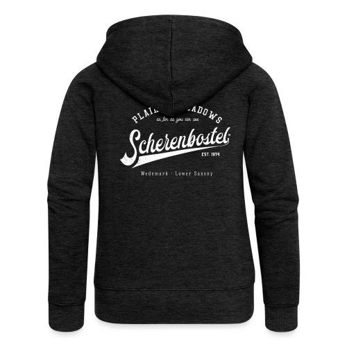 Scherenbostel Retrologo - Frauen Premium Kapuzenjacke