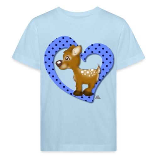 Kira Kitzi Blaubeere - Kinder Bio-T-Shirt