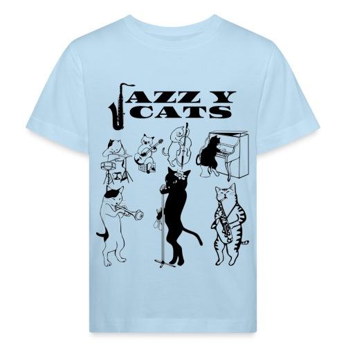 jazzy cats - T-shirt bio Enfant