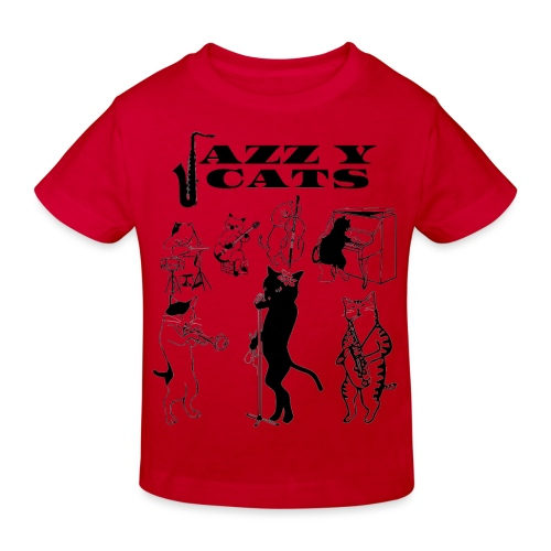 jazzy cats - T-shirt bio Enfant
