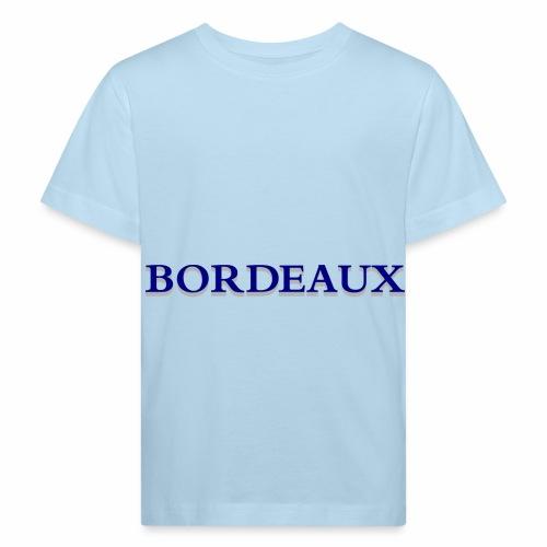 Bordeaux bleu - Kids' Organic T-Shirt
