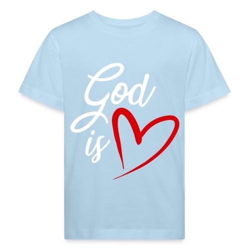 God is love 2B - Maglietta ecologica per bambini