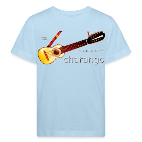 De los ANDES - Charango II - Camiseta ecológica niño