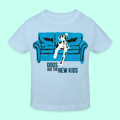Dogs are the New Kids - Kinder Bio-T-Shirt