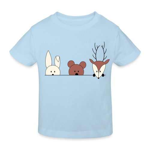 Kuckuck, wer ist da? - Kinder Bio-T-Shirt