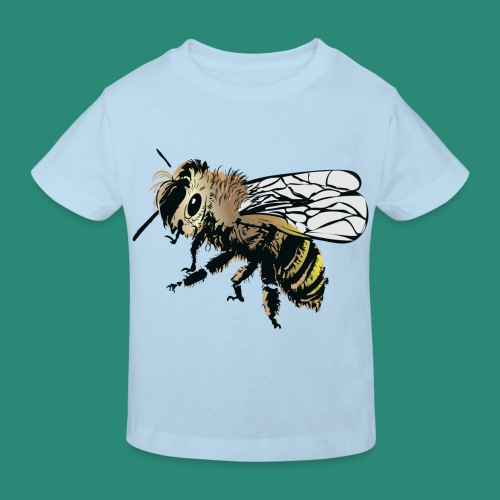 Wespe - Kinder Bio-T-Shirt