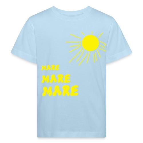 mare, voglio andare al mare - Maglietta ecologica per bambini