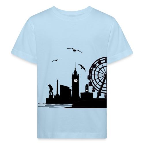 Silhouette of Margate - Kids' Organic T-Shirt