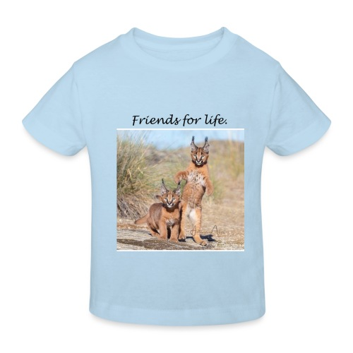 Amigos para la vida - Camiseta ecológica niño