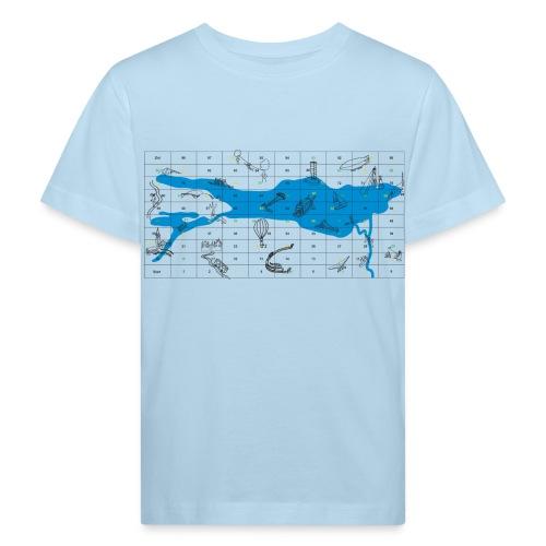 Bodensee Leiterlispiel - Kinder Bio-T-Shirt