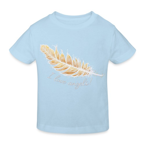 EngelFeder Love - Kinder Bio-T-Shirt