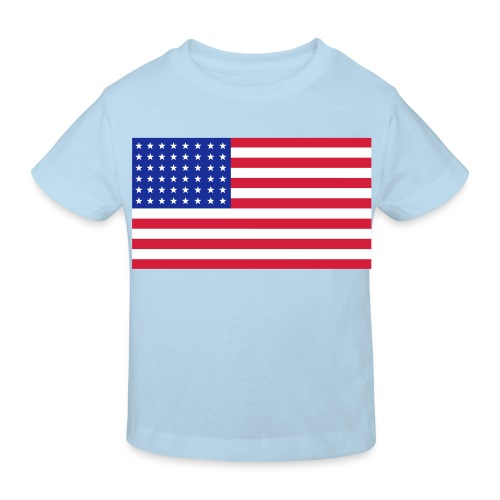 AVM 48 star flag in 3 color RGB VECTOR - Kinderen Bio-T-shirt
