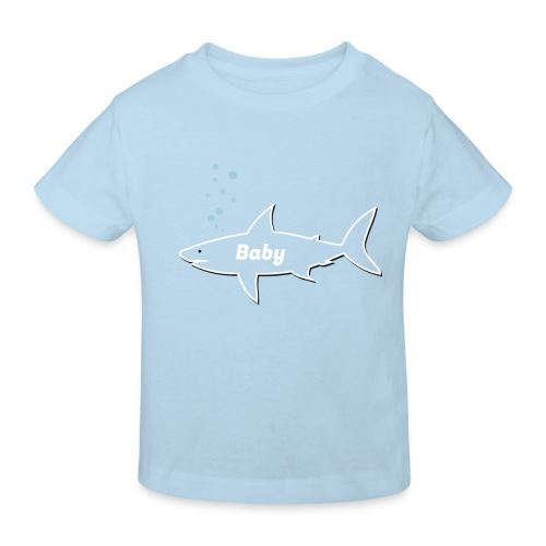 Baby shark - Fathers Day gift - Matching outfit - Kinder Bio-T-Shirt