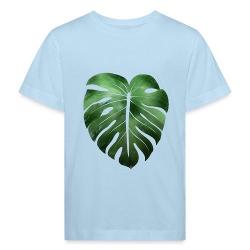 Foglia dalla Natura - Maglietta ecologica per bambini