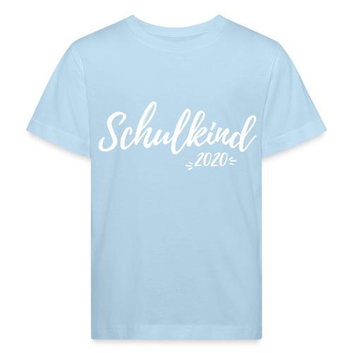 Schulkind 2020 - Einschulung - Kinder Bio-T-Shirt