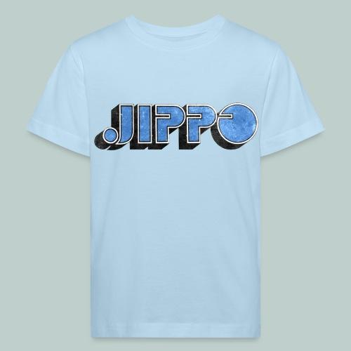 JIPPO LOGO (blue) - Lasten luonnonmukainen t-paita