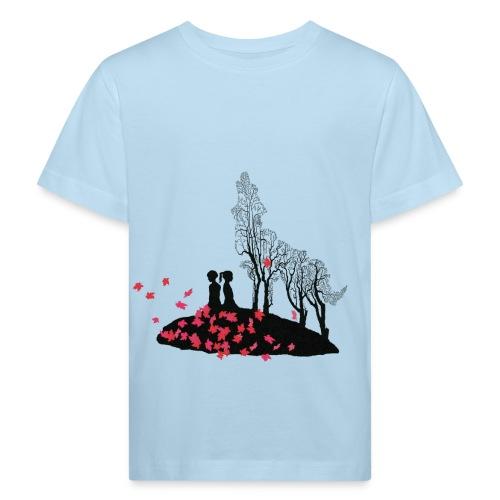 Vargmotiv - Ekologisk T-shirt barn
