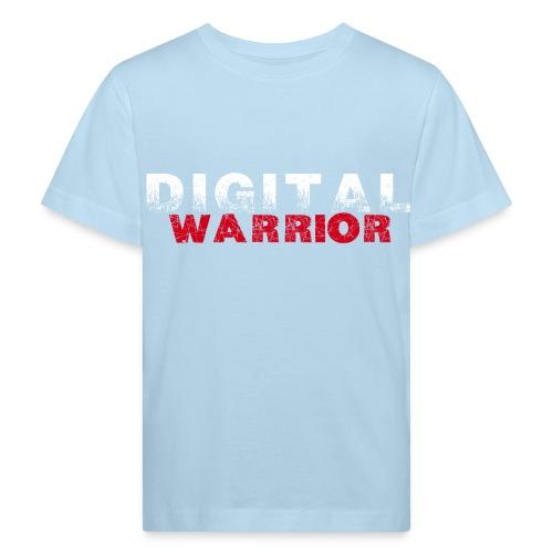 DIGITAl WARRIOR II - Ekologiczna koszulka dziecięca