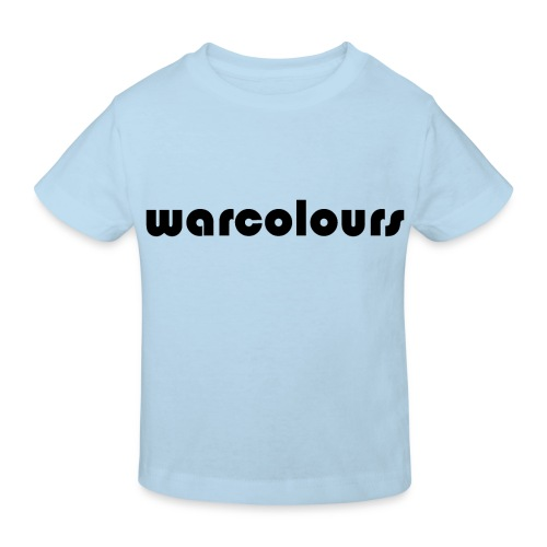 warcolours logo - Kids' Organic T-Shirt