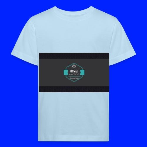 YT profile pic jpg - Kids' Organic T-Shirt