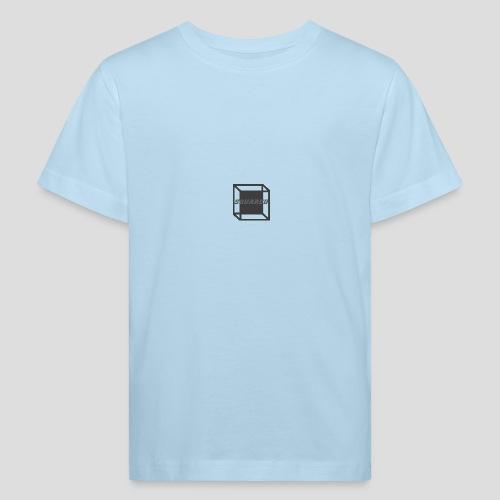 Squared Apparel Black / Gray Logo - Kids' Organic T-Shirt