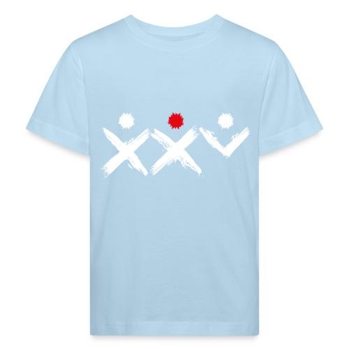 Logo Ich Troje 25 Lat Białe - Ekologiczna koszulka dziecięca