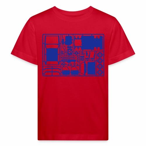 Bastelfreund (+ Dein Text)_1c - Kids' Organic T-Shirt