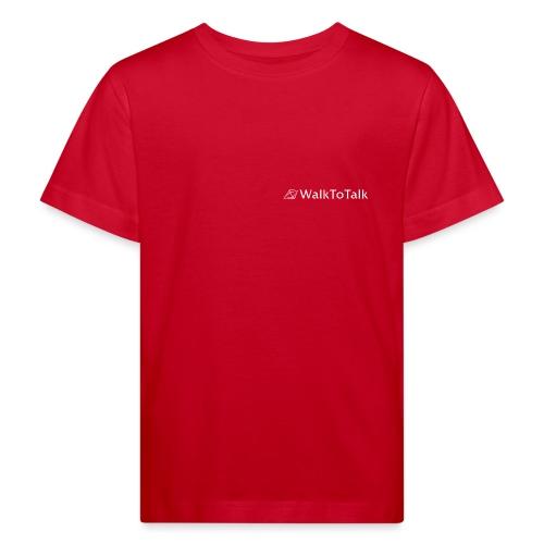 WalkToTalk - Inspirierende Gehspräche im Grünen - Kinder Bio-T-Shirt