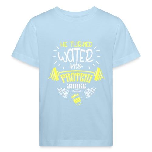 workout protein shake - Kinder Bio-T-Shirt