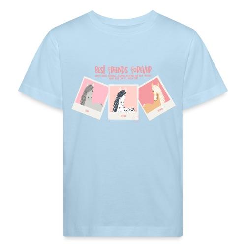 Best horse friends forever - Kids' Organic T-Shirt
