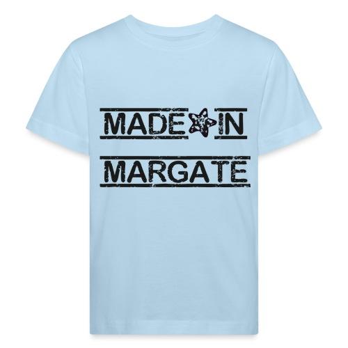 Made in Margate - Black - Kids' Organic T-Shirt