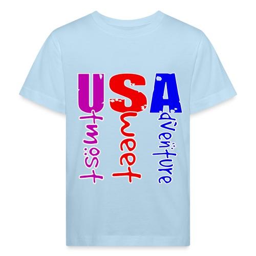 USA-Utmost Sweet Adventure - T-shirt bio Enfant