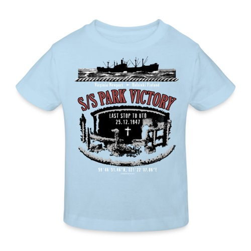 PARK VICTORY LAIVA - Tekstiilit ja lahjatuotteet - Lasten luonnonmukainen t-paita