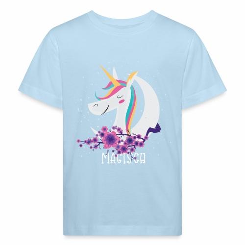 Magisches Einhorn - Kinder Bio-T-Shirt