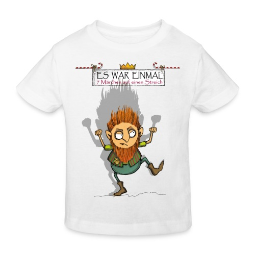 ES WAR EINMAL Rumpelstilzchen - Kinder Bio-T-Shirt