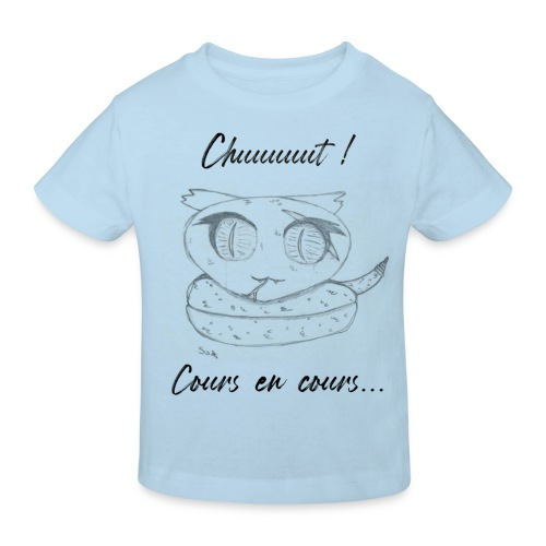 Serpent_chut - T-shirt bio Enfant